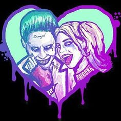Shared by The Vampire Diaries. Find images and videos about joker, harley quinn and suicide squad on We Heart It - the app to get lost in what you love. Der Joker, Joker Art, Harley And Joker Love, Joker Drawings, Harley Quinn Drawing, Harely Quinn, Daddys Lil Monster, Joker Pics, Batman Universe