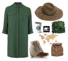 """""""The 1964 Premium Wedge from SOREL: Contest Entry"""" by annet-kalyta ❤ liked on Polyvore featuring SOREL, Topshop, Emilio Pucci and sorelstyle"""
