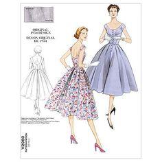 Mccall Pattern V2960 Dd (12-14--Vogue Pattern