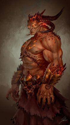 Demon lord by johan_g
