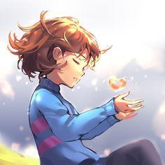 Frisk Fanart, Anime Undertale, Undertale Memes, Undertale Drawings, Undertale Cute, My Little Pony Characters, Fictional Characters, Sans E Frisk, Adventure Time Marceline