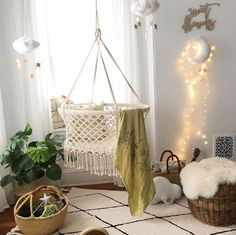 Hanging Crib Bassinet at Design Life Kids