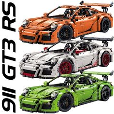 99.99$  Buy now - http://aliuts.worldwells.pw/go.php?t=32788574696 - 1:8 911 GT3 RS Racing Car Model Building Blocks Bricks Set Toy Gift Children Lepin Technic 42056 99.99$