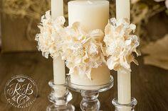 Sposa candela candela matrimonio personalizzato candela