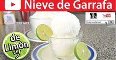 NIEVE DE GARRAFA DE LIMÓN | Vicky Receta Facil | cocina | Pinterest | Watches
