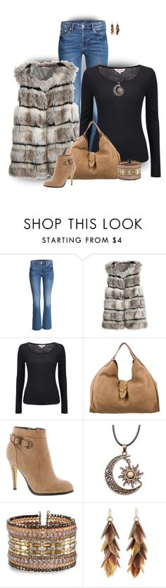 """""""Faux Fur Vest"""" by stileclassico ❤ liked on Polyvore featuring Trilogy, Calypso St. Barth, Phase Eight, Gucci, Michael Antonio, NAKAMOL, Ashley Pittman, contest, vest and fur"""