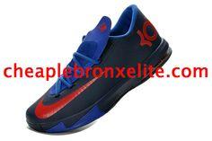 Kevin Durant 6 Navy Royal Blue Red Black 599424 410