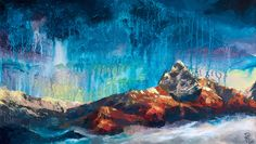 Nordic dream | 2016 | 70 x 40 | acrylic on canvas Author - Natalia Pivkina art.pivkina.com