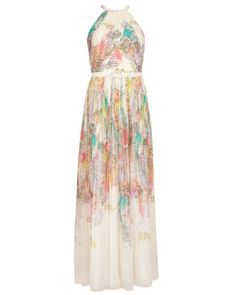 Wispy meadow maxi dress - Light Pink | Dresses | Ted Baker