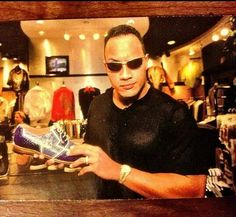 @TheRock  new shoes