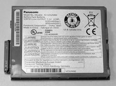 Panasonic Toughpad FZ-M1 Battery, Model No. FZ-VZSU94W is available to purchase online at Pan-Toughbooks.com £35+VAT