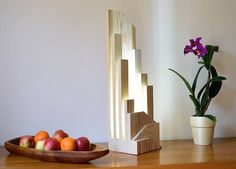 Desk Light, Lamp Light, Home Lighting, Lighting Design, Partition Design, Led Wall Lights, Kiefer, Wood Lamps, Wood Grain