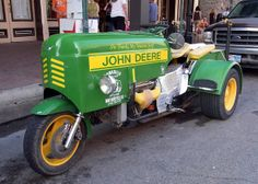 John Deere Motorcycle.  If you gotta have one well nothing runs like a deere.....