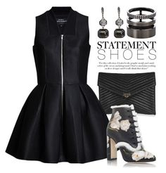 """Statement Shoes 2238"" by boxthoughts ❤ liked on Polyvore featuring Topshop, Lavinia Cadar, Dolce&Gabbana, Repossi and Victoria Beckham"