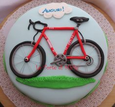 bicycle fondant cake decorating ideas - Google Search