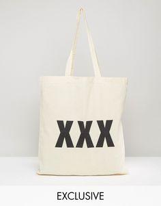 Image 1 ofReclaimed Vintage XXX Tote Bag