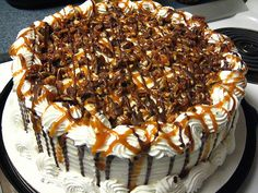 Dairy Queen Pecan Turtle Ice Cream Cake