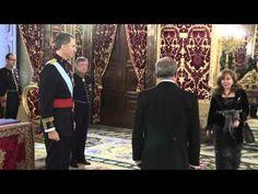 Entrega a S.M. el Rey de las cartas credenciales del Embajador de Irak, Alaa Hussein Al-Hashimy