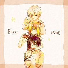 """""""Death Note"""" ~ L, Near, and Mello."""