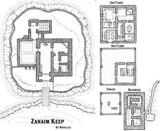 Redbrand Hideout Dungeon Map by trwolfe13.deviantart.com