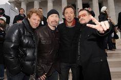 JBJ, The Edge, Bruce, Bono