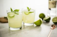 Happy Friday! Unwind with this refreshing, herby drink.