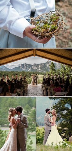 Scenic Mountainside Park Wedding in Colorado | WeddingWire: The Blog
