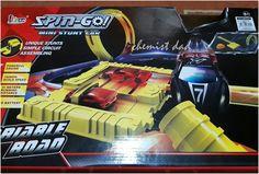 Matthew's new toy. Spin Go Mini Stunt Car