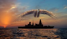Fireworks over the Mediterranean
