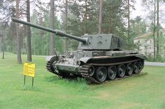 Charioteer tank. While the British Army was replacing its tank force with the impressive Centurion, it was recognised that the surplus tanks from WW2 used by the army reserves were no match for the new Soviet tanks. The decision was taken to upgrade some Cromwells with the 20 ponder gun.