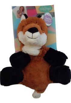 Cozy Hugs Fox Aromatherapy Hot/Cold Soft Plush Ceramic Beads Lavender Scent #CozyHugs