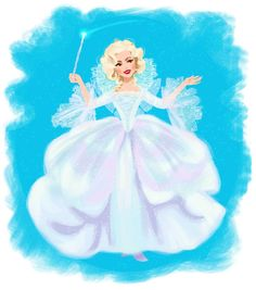 Cinderella's (Ella's) Fairy Godmother from Cinderella the new 2015 movie