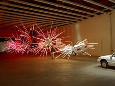 """""""Inopportune Stage One"""" by artist Cai Guo-Qiang"""