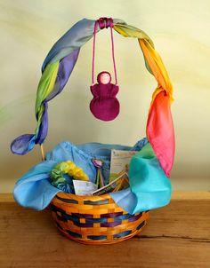 Sarah's Silks Waldorf Easter basket
