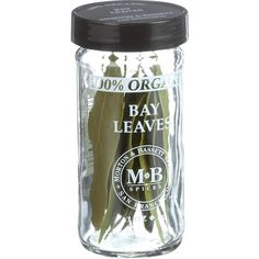 Morton and Bassett 100% Organic Seasoning - Bay Leaves - .1 oz - Case of 3 - Bay leaves add dimension to a wide range of soups, sauces and stews, especially those containing chicken and beef. Seafood benefits from steaming with a leaf or two. Break a leaf and add to your favorite marinade recipes. Essential for tomato sauces and stocks. Remove before serving. USDA Certified 100% Organic, all natural, salt-free, preservative free, no MSG, non-irradiated, not genetically engineered and KSA…
