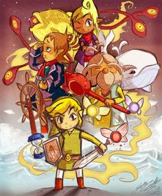 The Legend of Zelda Phantom Hourglass Photo: Phantom Hourglass. My first Zelda game