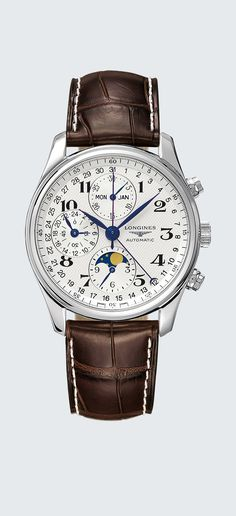 49c1db589bf Watch zoom The Longines Master Collection L2.673.4.78.3 Relógios De Senhor