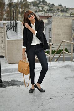 Blushing Ambition - Dig this girls style.
