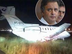 Galdino Saquarema 1ª Página: Avião com Aécio faz pouso de emergência em SP