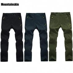 Mountainskin Men's Summer Quick Dry Breathable Thin Hiking Pants Outdoor Climbing Trekking Camping Clothing Male Trousers RW155 #HikingPants
