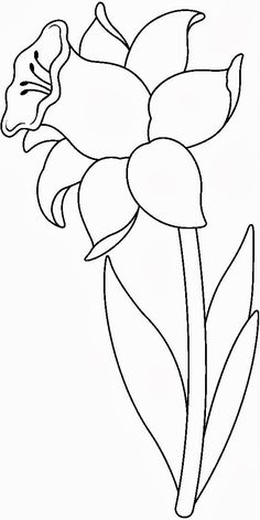 ideas flowers drawing pattern stained glass You are in the right place about F Flower Coloring Pages, Leaf Coloring, Colouring Pages, Coloring Books, Stained Glass Patterns, Mosaic Patterns, Applique Patterns, Flower Patterns, Design Patterns