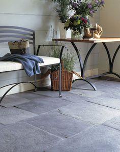 ITEM 6 - Big dark stone flags on the floor - 10 Kitchen Essentials