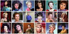 Women of Star Trek TOS.