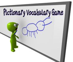 Pictionary to learn vocabulary Teaching Vocabulary, Teaching Language Arts, Vocabulary Activities, Classroom Humor, High School Classroom, Classroom Ideas, Future Classroom, Math Words, Vocabulary Words