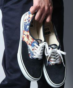 47d698e00b HARE x Vans Authentic. A floral back panel is contrasted by simple suede  styling on