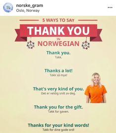 Norway Language, Norwegian Words, Speaking In Tongues, Norway Travel, Stavanger, Foreign Languages, Vikings, Sweden, Ireland