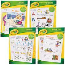Bulk Crayola Basic Skills Activity Books at DollarTree.com