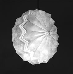 Folded Light Art | Moonlight Mandala (L)