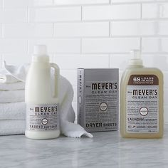 Mrs. Meyer's Clean Day® Lavender Laundry Essentials I Crate and Barrel