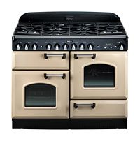 Range - 44 inch Dual Fuel Stove, 6 Burners, Cathedral Door - Legacy by AGA